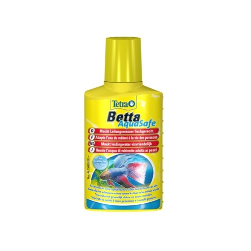 Traitement de l'eau - Conditionneur d'eau Aquasafe pour Betta Tetra
