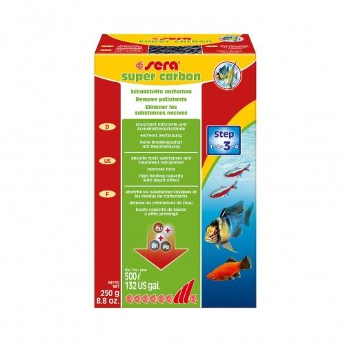 Traitement et entretien - Super carbon pour poissons