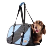 Sac de transport pour chien et chat - Sac de transport pliable Flying Pal Ibiyaya