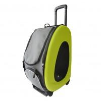 Sac de transport pour chien et chat - Sac à roulettes modulable Tangerine Ibiyaya