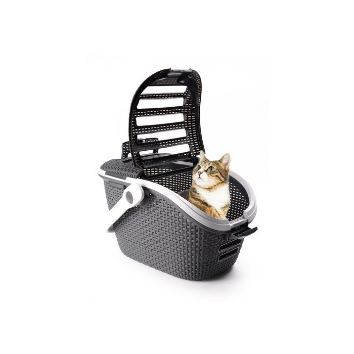 Transport du chat - Panier de transport Petlife pour chats