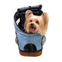 Sac de transport pour chien et chat - Sac à dos Denim Fun Ibiyaya