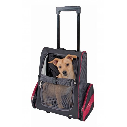 sac de transport roulettes vacation sac de transport pour chien et chat kerbl wanimo. Black Bedroom Furniture Sets. Home Design Ideas
