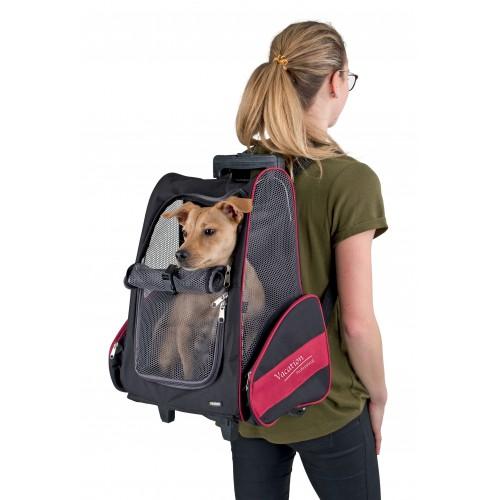 Transport du chat - Sac de transport à roulettes Vacation pour chats
