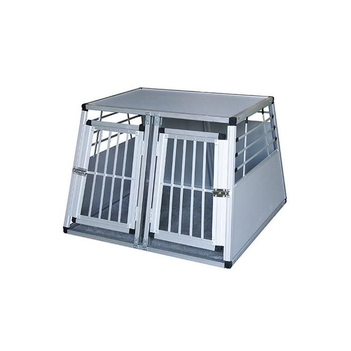 caisse de transport en aluminium caisse de transport cage caisse box de transport double pour. Black Bedroom Furniture Sets. Home Design Ideas