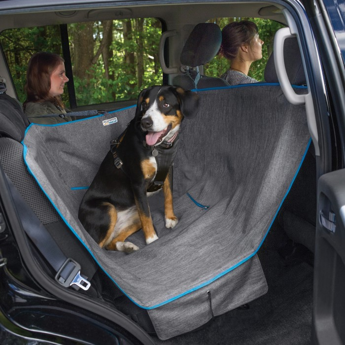 Transport du chien - Demi-Hamac de banquette pour chiens