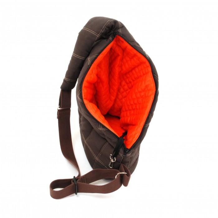 Transport du chien - Sac Kangourou Messenger Pooch Pouch pour chiens