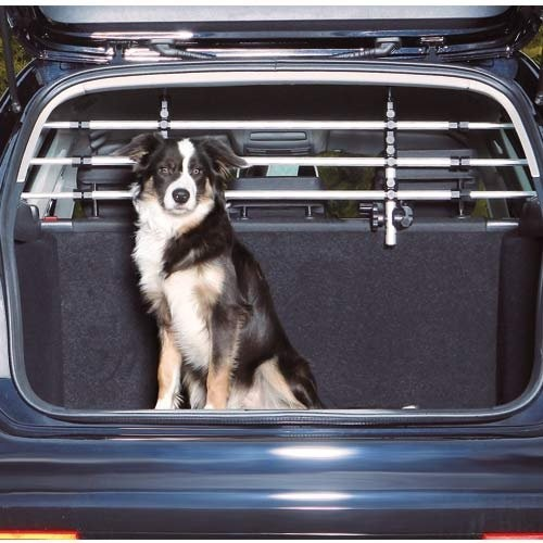 Barrière de sécurité pour chien en voiture
