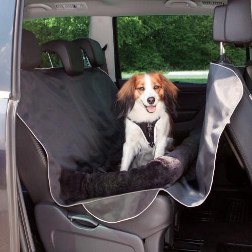 Transport du chien - Protection auto et couchage 2 en 1 pour chiens