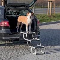 Accessoire de voiture pour chien - Escalier repliable Trixie