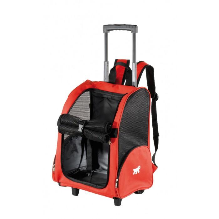 sac trolley trip - sac à roulettes pour chien et chat - ferplast
