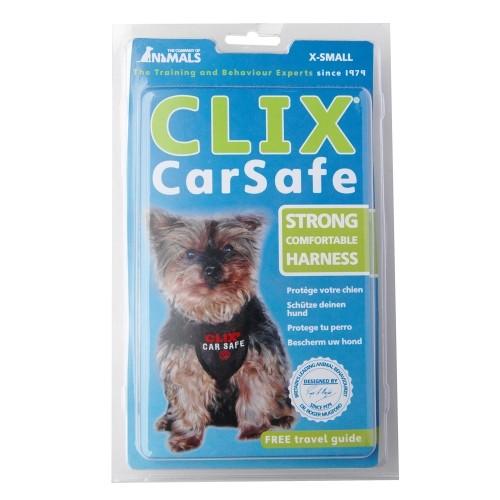 Transport du chien - Harnais de voiture Clix Car Safe pour chiens