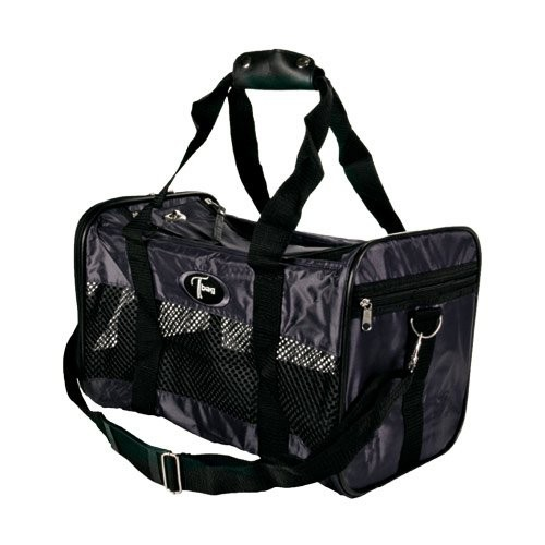 Transport du chat - Grand sac de transport noir pour chats