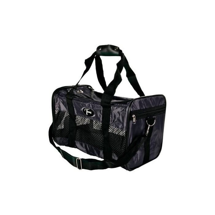 Transport du chien - Grand sac de transport noir pour chiens