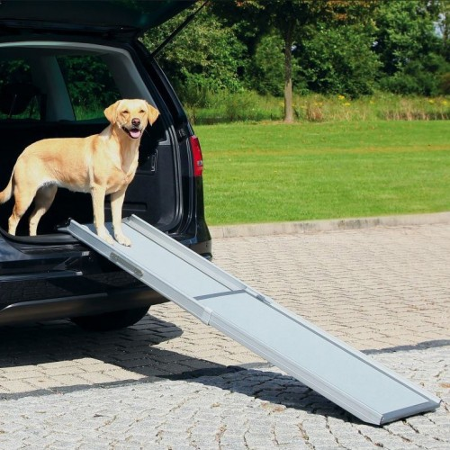 rampe t l scopique accessoire de voiture pour chien trixie wanimo. Black Bedroom Furniture Sets. Home Design Ideas