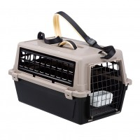 Caisse de transport pour chat et petit chien - Caisse de transport Atlas Trendy Plus Ferplast
