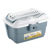 Box pour petits rongeurs - Box de foin avec terre à bain Kerbl