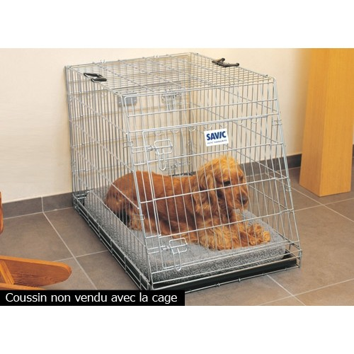 Caisse de transport pour voiture - Cage Dog Residence Mobile Savic