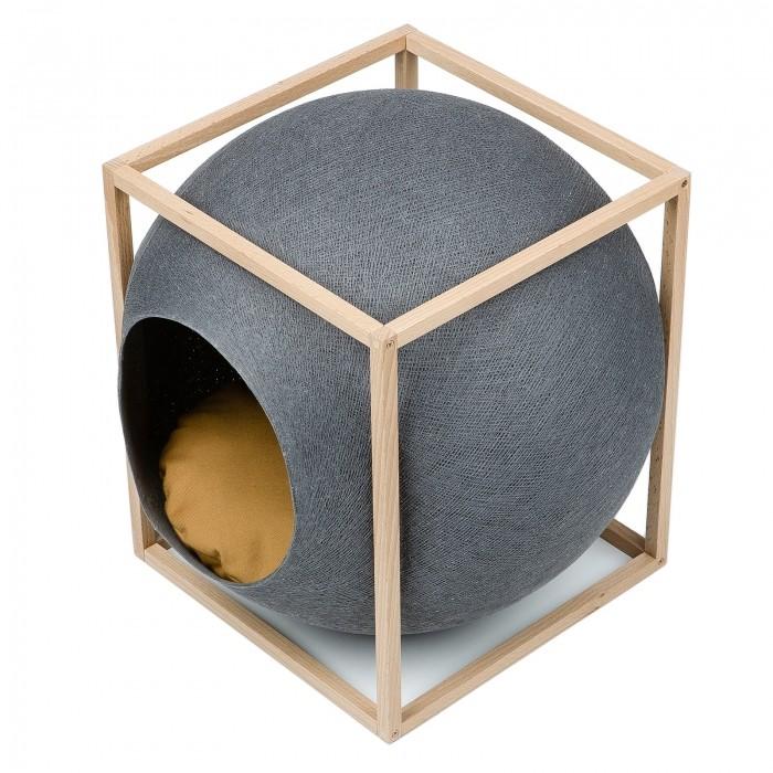 Ventes Privées - Cube Cocon - Edition Bois pour chats