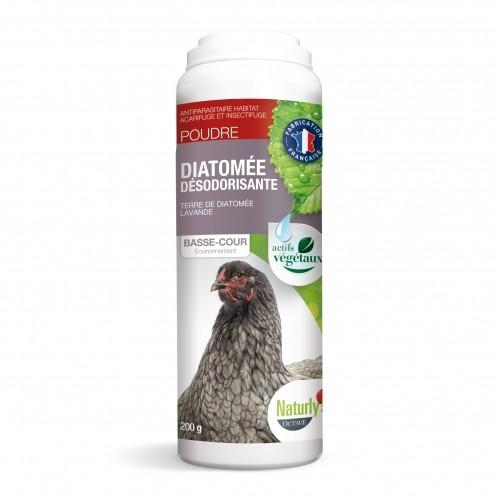 Ventes Privées - Terre de Diatomée Anti-Odeur pour poules