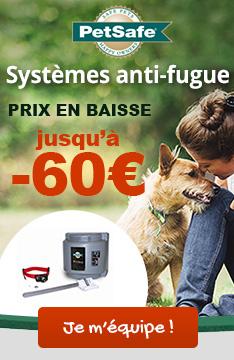 Systèmes anti-fugue PetSafe à -60%