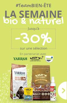 #TeamBIEN-ETRE : Jusqu'à -30% sur une sélection de produits bio et naturels !