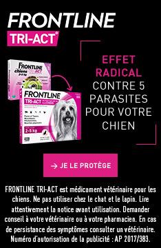 Protégez votre chien avec FRONTLINE TRI-ACT