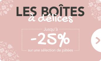 Les boîtes à délices : Jusqu'à -25% sur une sélection de pâtées