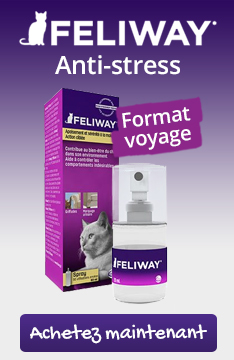 Feliway anti-stress : format voyage spray 20ml