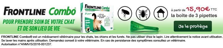 Frontline Combo : pour prendre soin de son chat et de son lieu de vie