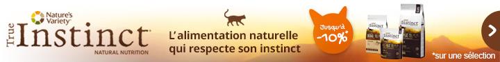 Alimentation naturelle True Instinct