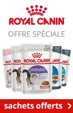 Sachets fraîcheur Royal Canin offerts !