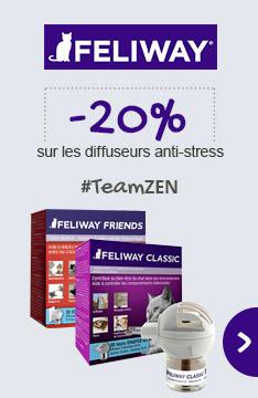 Les diffuseurs anti stress FELIWAY à -20% !