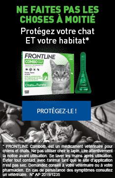 Frontline Combo : protégez votre chat et votre habitat