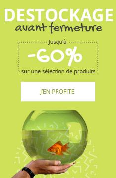 DÉSTOCKAGE : jusqu'à -60% sur une sélection pour poisson
