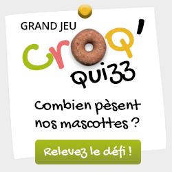 Grand Jeu Croq Quizz chez Wanimo !