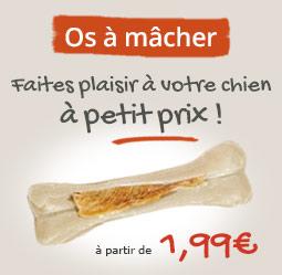 Friandises os pour chien