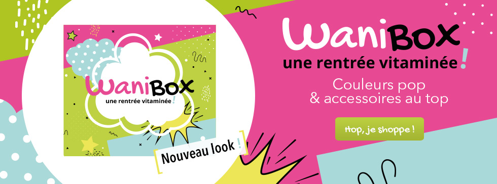 Découvrez la WaniBox multivitaminée de la rentrée !