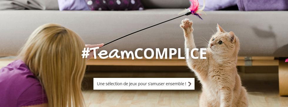 #TeamCOMPLICE : découvrez notre sélection de jeux pour jouer avec votre boule de poils
