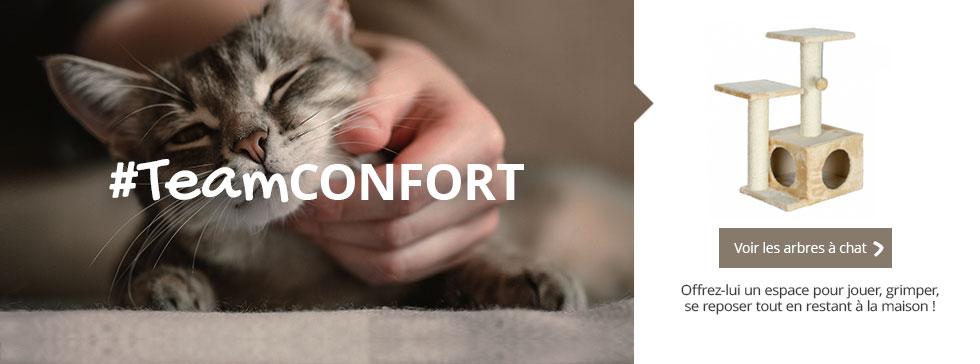 #TeamCONFORT : un espace privilégié pour lui où il pourra jouer, grimper et se reposer