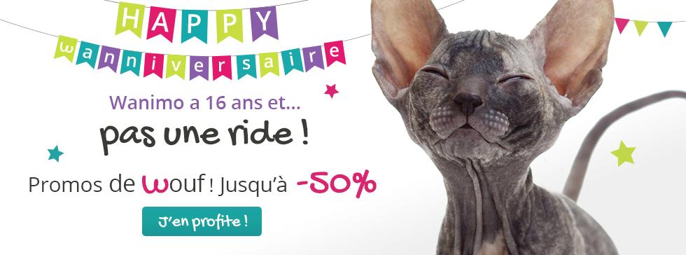 Happy Wanniversaire : promos jusqu'à -50%