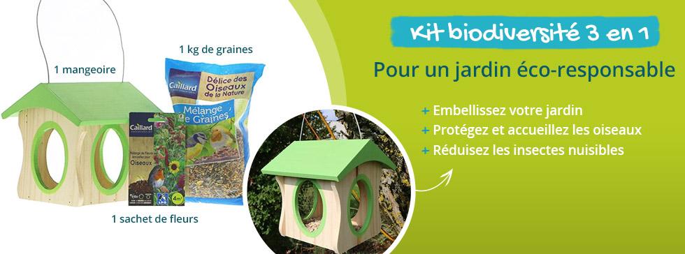 Jardin éco-responsable : découvrez le kit biodiversité 3 en 1