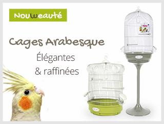 Découvrez notre nouvelle gamme de cage Zolux pour oiseau