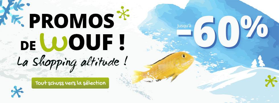 Nos promos de Wouf pour les poissons !