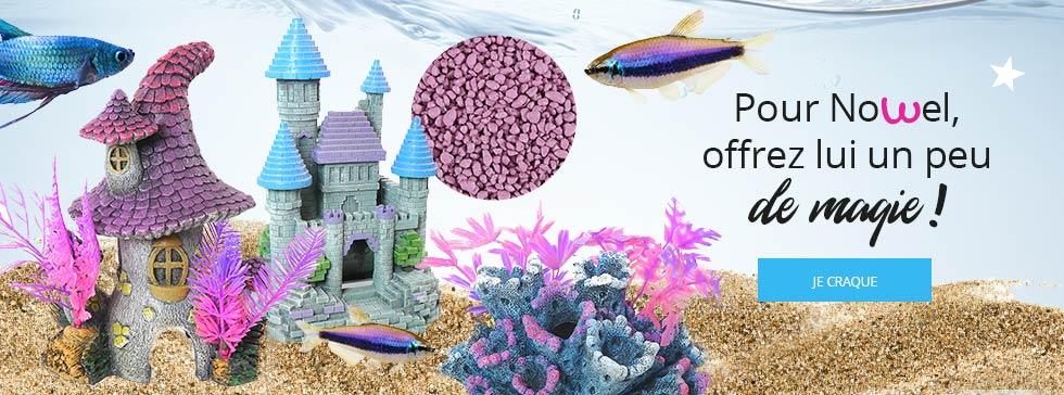 Découvrez nos décorations pour votre aquarium !