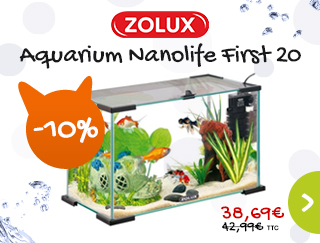 Profitez de notre promotion sur l'aquarium Nanolife First 20
