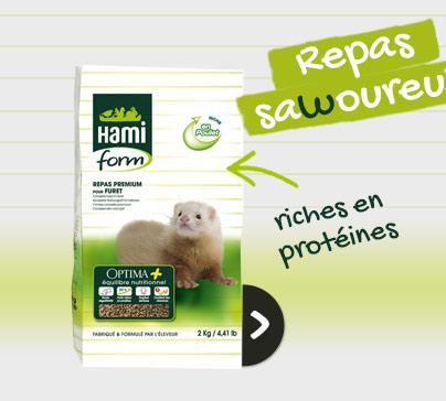 Croquettes et biscuits Hamiform