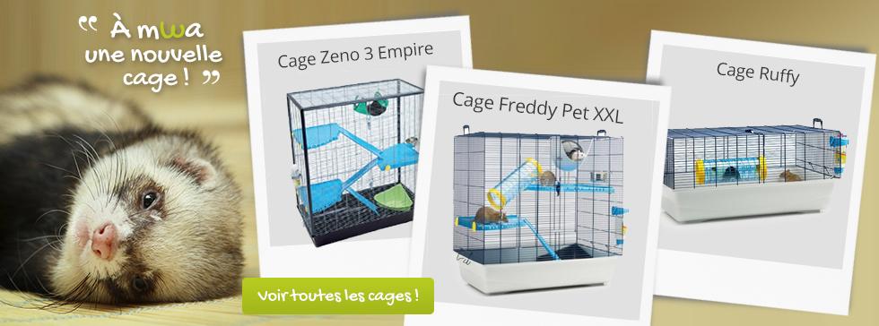 A mwa une nouvelle cage !