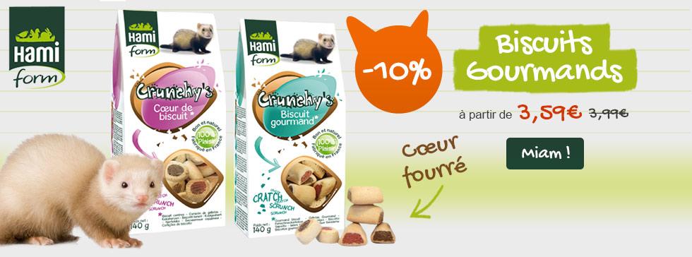 Profitez des friandises Crunchy à -10%