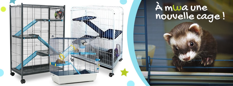 Offrez-lui une nouvelle cage !